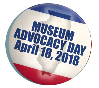 April 18 Museum Day Button